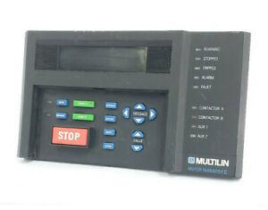 GE MULTILIN MM2 MOTOR MANAGER CONTROLLER MM2 D200 1226-0001-D4 1265-0001-C1