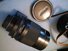 COLLECTOR GRADE -  Nikon 500mm f8 Reflex Lens Complete w/ Filters, Box & Case