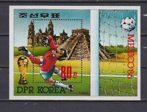 s5975) KOREA 1985 MNH** WC Football'86 - CM Calcio S/S