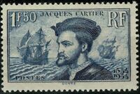 FRANCE 1934 Jacques CARTIER YT n° 297 neuf ★★ luxe / MNH