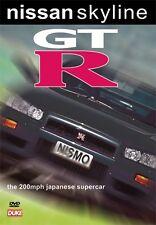 NISSAN SKYLINE GT-R DVD. FREE SHIPPING. 200mph Supercar. 100 Min. DUKE 3638NV