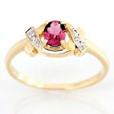 Handmade Natural Tourmaline Fine Rings