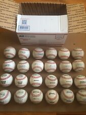 Lot Of 24 Used Baseballs, Great Condition ⚾�⚾�