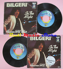 LP 45 7'' BILGERI In the night Heaven will wait 1981 germany BLOW UP cd mc dvd