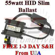 55W HID SLIM BALLAST H1 H3 H4 H7 H10 H11 9005 9006 D2R D2S UNIVERSAL REPLACEMENT