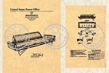 ADRIAN PEARSALL SOFA PATENT-Mid Century Modern '64 #803