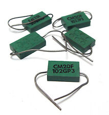 5x Glimmer-Kondensator / Glimmerkondensator 1 nF / 500V, Tube Amp Tuning