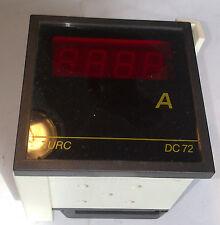 CIRCUTOR DC 72 AMPERIMETRO DIGITAL RANGO 5 / 100 A  230 V AC