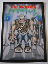 The MONSTER ~ Frankenstein 1991 #13 Monster in My Pocket ~ TRADING CARD