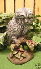 Snow Barn Screech Owl Bird Latex Fiberglass Production Mold Concrete Plaster
