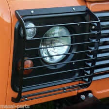 Front Lamp Guards for Land Rover Defender - Pair
