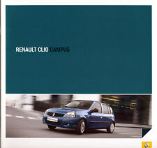 RENAULT-CLIO CAMPUS-PROSPETTO - 05/09 - tedesco-NL-commercio di spedizione