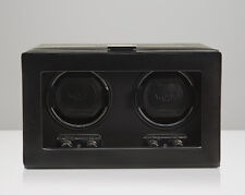 WOLF 270102 Heritage Double 2.1 Watch Winder Black Glass Cover