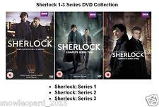 SHERLOCK COMPLETE SERIES 1 2 3 DVD HOLMES Benedict Cumberbatch Martin Freeman UK