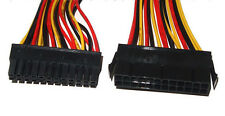 ATX Extension Cable Lead 24 Pin Male to 24 Pin Female Internal PC PSU Power 27cm