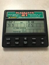 RADICA BLACKJACK 21 ELECTRONIC HANDHELD GAME 1450 TESTED FAST-FREE SHIPPING
