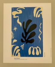 MATISSE,'COMPOSITION SUR FOND BLEU,1951' RARE AUTHENTIC 1993 ART PRINT