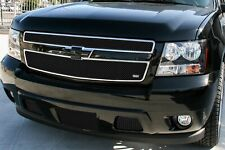 GrillCraft SW-Series Black Stainless Upper Mesh Grille for Chevy Tahoe Hybrid