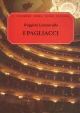 I Pagliacci Opera in Two Acts 9780793525485 by Ruggiero Leoncavallo Paperback