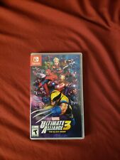 Marvel Ultimate Alliance 3: The Black Order (Nintendo Switch, 2019) Adult Owned