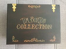 TIM BURTON COLLECTION - CAJA MUSICA - MUSIC BOX - 3 DVD PAL 2 + 18 POSTCARDS