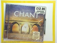 Gregorian Chant - The Very Best Of Canto Gregoriano	CD New & Factory Sealed