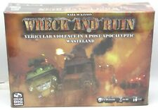 Wreck and Ruin DBG001 Vehicular Violence in Post-Apocalyptic Wasteland (Game)