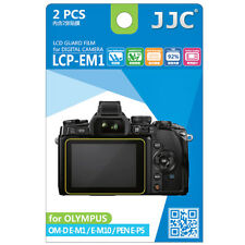 JJC LCD Screen Protector Film for Olympus Om-d E-m5