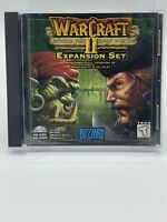 WarCraft II (2) Beyond the Dark Portal Expansion Set Blizzard CD-Rom PC 1996