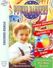 POWER RANGERS (1995) MC TAPE MORERECORD MC DV 5920 ORIGINALE