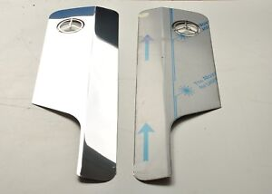 Mercedes Actros MP4 Mirror Covers Super Polished  Stainless Steel 2 Piece