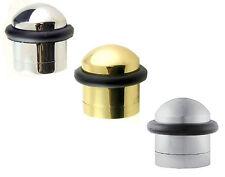 Carlisle Brass Solid Domed Top Floor Mounted Door Stop Stopper 32mm Diameter