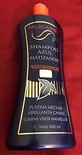 SILICARE Shampoo Azul Matizador Care Color Elimina Visos Amarillos 400 Ml