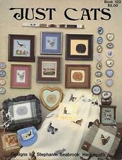 Just Cats Cross Stitch Book - Pegasus Originals Bk #123