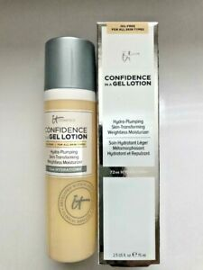 IT COSMETICS CONFIDENCE IN A GEL LOTION  (Full Size 2.5oz/NIB)