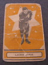 1933-34 OPC V304B SERIES B LAURIE AURIE #51 ROOKIE (RARE) BV $175-$300