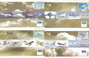 100 YEARS OF POWERED FLIGHT ASCENSION ISLAND SET 4 FDC FIRST DAY COVERS 2003
