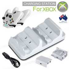 Xbox One S Charger Dual Dock Charging Station with 2 Battery USB Charging Cable