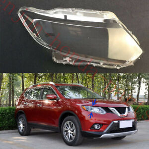 Right Side Headlight Cover Clear PC With Glue replace For Nissan Rogue 14-16AA