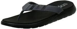 adidas Comfort Flip Flop, Infradito Uomo, NEGBÁS/GRICIN/GRICIN