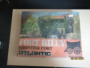 """Atlantic #1051 """"Fort Riley Frontier Fort"""" Ho:oo Scale one complete fort"""