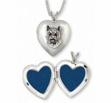 Norwich Terrier Photo Locket Jewelry Sterling Silver Handmade Dog Photo Locket N