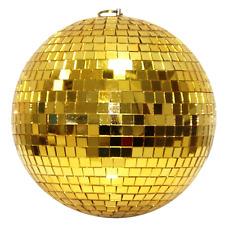 Spiegelkugel 10cm gold // Discokugel - Mirrorball 10cm gold