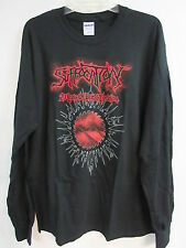 NEW - SUFFOCATION BAND / CONCERT / MUSIC T-SHIRT LONG SLEEVE LARGE