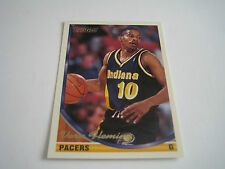 1993/94 TOPPS GOLD BASKETBALL VERN FLEMING CARD #293***INDIANA PACERS***