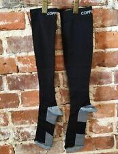 Copper Fit Black Knee-High Compression Socks Unisex L/XL NEW
