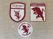 3 ADESIVI A.C. TORINO CALCIO ULTRAS ULTRA' FEDELISSIMI SUPPORTERS