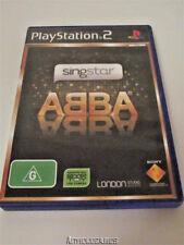 Singstar ABBA PS2 PAL *No Manual*