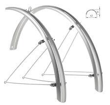 """Coppia parafanghi ant/post Bici bicicletta 28""""city bike universali policarbonato"""