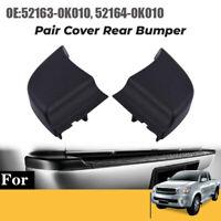 Rear Bumper End Plate Corner Cap Trim Fit for Toyota Hilux Vigo 2004-2015 5 D4Y4